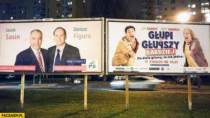 Plakat Wyborczy Glupi I Glupszy Bukowski Lider